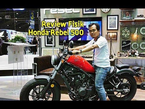 Review Fisik Honda Rebel 500