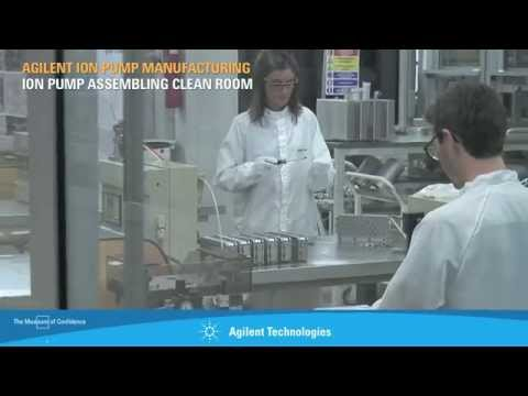 Agilent Ion Pump Manufacturing