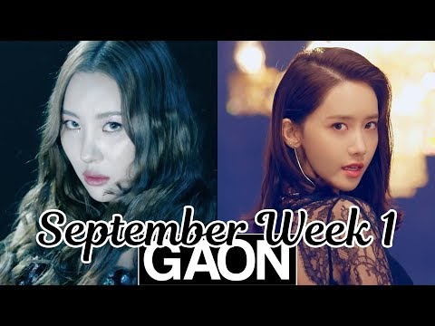 [TOP 100] Gaon Kpop Chart 2018 [September Week 1]