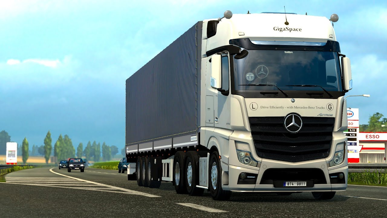 Mercedes benz actros 2014i sound hd mod for ets 2 for Mercedes benz trucks