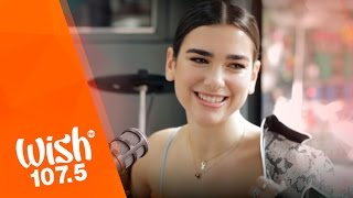 """Dua Lipa performs """"Blow Your Mind"""" LIVE on Wish 107.5 Bus"""