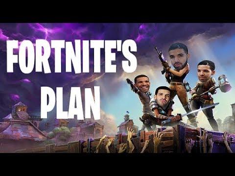 Fortnite's Plan - Official Music Video (God's Plan Parody)
