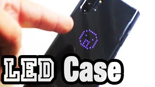 Samsung Galaxy S10 Note 10 Plus Case LED Back Cover Review