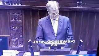 Posłuchajcie posła Gosiewskiego z PISu… Kto na tych ludzi głosuje ?? Ciemnogród wybiera ciemnogród.