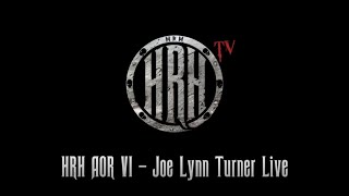 HRH TV – Joe Lynn Turner Live @ HRH AOR 6 2018