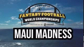 Maui Madness - A Fantasy Football Contest Adventure