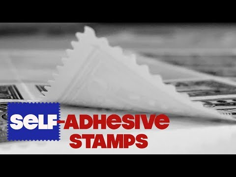 How to Separate Self-Adhesive Stamps