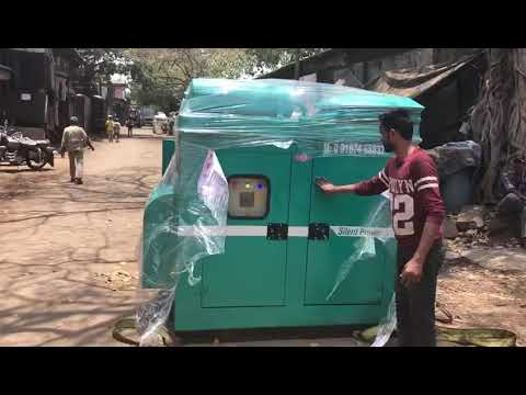 40 Kw Soundproof Bajaj-m Diesel Generator Set