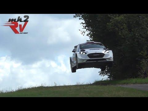 Gus Greensmith Ford Fiesta WRC Rallye Deutschland 2019 Test