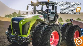 FARMING SIMULATOR 19 Platinum: CLAAS-Maschinen im Detail! | GAMEPLAY Preview