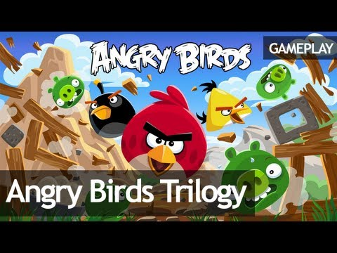 Angry Birds Trilogy má launch trailer a gameplay video