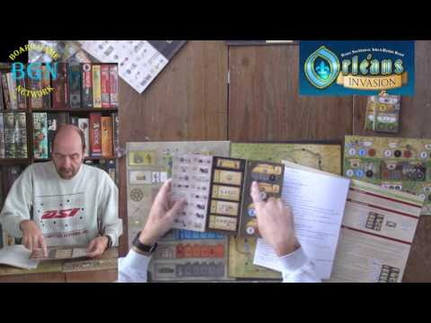 How to play Orleans Invasion (the new expansion for Orleans)
