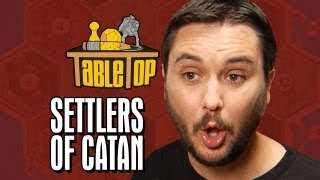 Settlers of Catan: Wil Wheaton, Jane Espenson, James Kyson, Neil Grayston. TableTop Episode 2