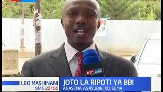 Ripoti ya BBI itachapishwa siku ya Jumanne, Naibu Rais Ruto azidi kutoa tetesi zake