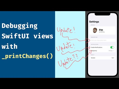 Tip: Debug your SwiftUI views with _printChanges() thumbnail
