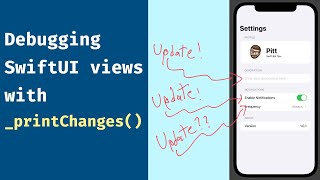 Tip: A better debugging in SwiftUI with _printChanges()