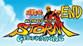 Naruto Shippuden Ultimate Ninja Storm Generations - Walkthrough Part 32 Series Finale Ending