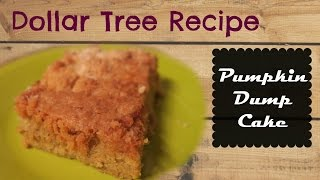 pumpkin bars with yellow cake mix and pecans