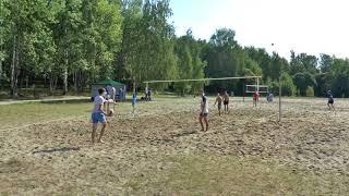 Пляжный волейбол. Мужчины. Игра Приволжск -Ярославль