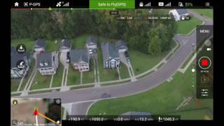 PHANTOM 3 PRO FPV Flight [Tablet View] Fly To My Buddy