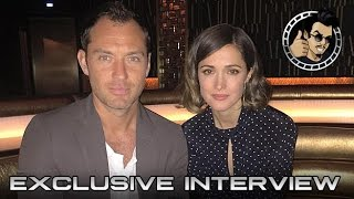 Cinemacon 2015: Jude Law and Rose Byrne Interview - Spy (HD) 2015