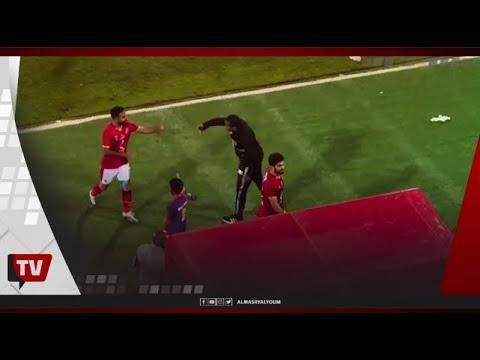الفرحة تخيم على لاعبي الأهلي عقب الفوز بسداسية على الحرس الوطني