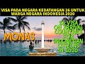 VISA ON ARRIVAL COUNTRIES FOR INDONESIAN CITIZENS 2020 || ONE STEP ASIA TOURS ||