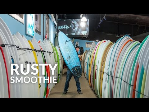 Rusty Smoothie Surfboard Review
