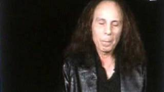 ronnie james dio talking about rainbow in the dark shorlty before his death tribute