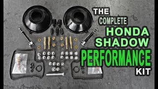 Honda Shadow Carb PERFORMANCE REBUILD KIT