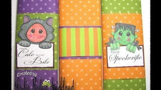 Tuesday Tutorial  | Candy Bar Wrappers