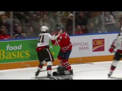Dawson McKinney vs. Yanic Crete