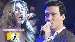 "Angeline, Erik sing ""I Want You To Know"" on GGV"