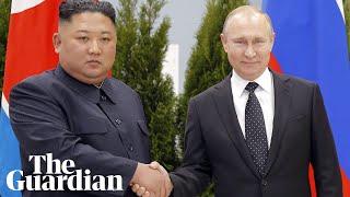 Kim Jong-un And Vladimir Putin Meet Face To Face At Russia Summit