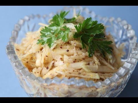салат из брюквы рецепт
