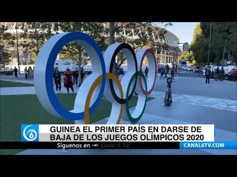 Guinea el primer país en darse de baja de los Juegos Olímpicos 2020