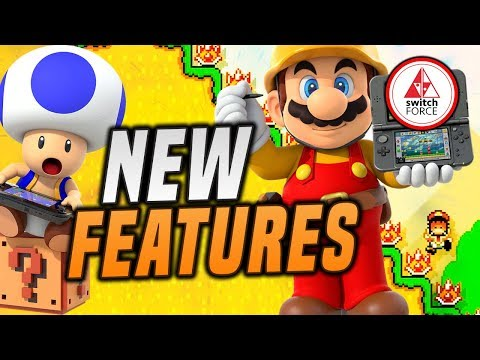 Download ALL New Features in Super Mario Maker 2    SO FAR