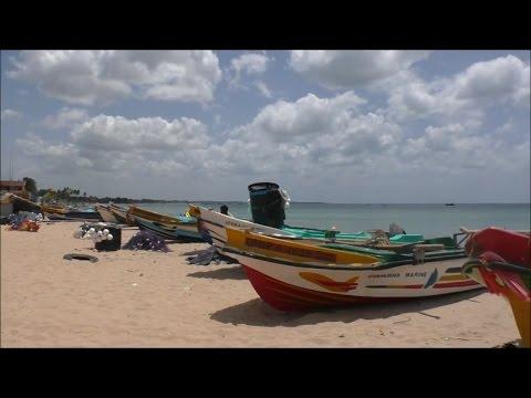 Trincomalee Beach and Town, Sri Lanka  July 2016