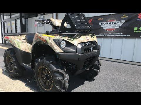 2021 Kawasaki Brute Force 750 4x4i EPS Camo in Greenville, North Carolina - Video 1