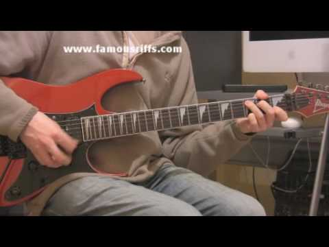 Learn Electric Guitar Lessons - How to play Paradise City - Easy Guitar Riffs