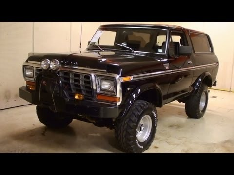 1979 Ford Bronco XLT 4×4 Quick Look