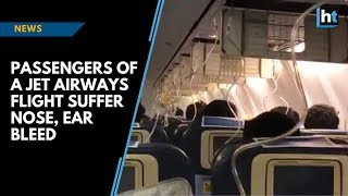 Passengers Of A Jet Airways Flight Suffer Nose, Ear Bleed As Crew Forgets To Maintain Cabin Pressure