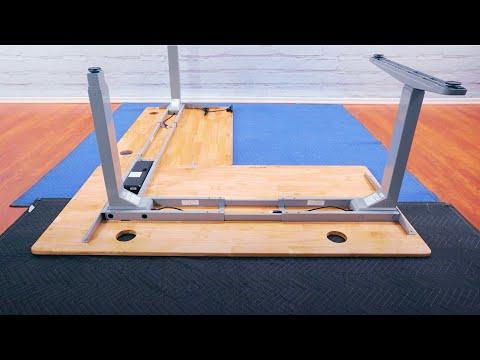 3-Leg Height Adjustable Desk Assembly by UPLIFT Desk