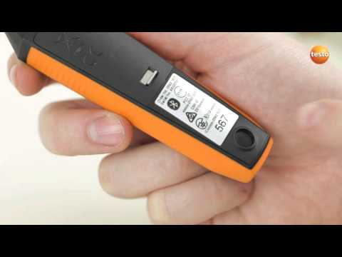 Видео-инструкция (How To) testo Smart Probes