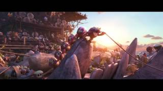 Moana - Kakamora Fight (HD)
