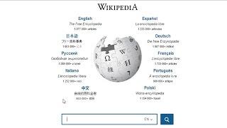 Www.wikipedia.com English Search