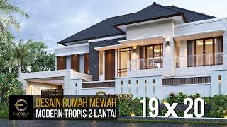 Video Desain Rumah Modern 2 Lantai Ibu Hj. Niniek di  Palembang, Sumatera Selatan