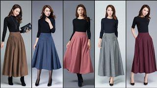 Stylish Stunning And Elegant Beautiful Long Skirts Dresses