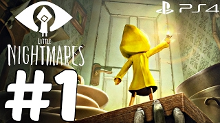 Little Nightmares (PS4) - Gameplay Walkthrough Part 1 - New  Extended Demo [1080p HD]