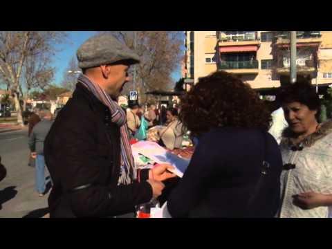 Comienza en Cruz de Humilladero la campaña contra el nuevo recibo de EMASA